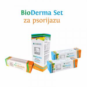 BioDerma Set (ex Psorijaza Set) – komplet kapi i krema za psorijazu