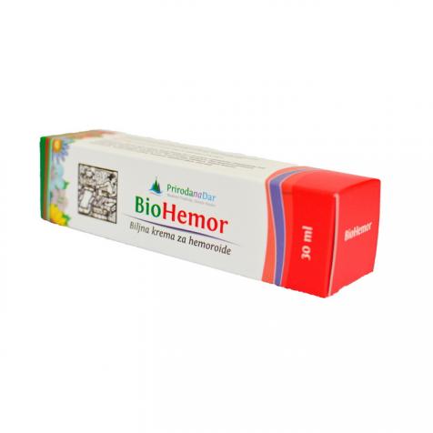 BioHemor krema za hemoroide i krema za šuljeve