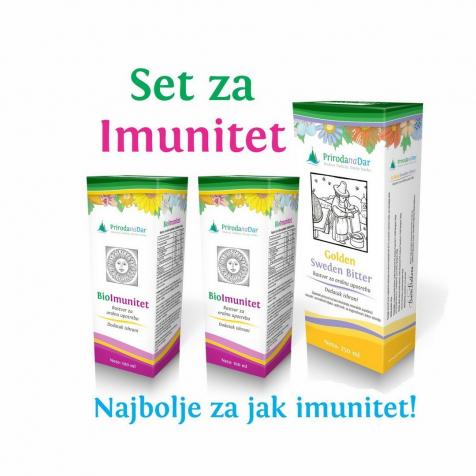 Set za imunitet – eliksir i kapi za jačanje imuniteta