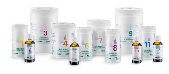 Šuslerove tkivne soli za mršavljenje, osteoporozu, sinuse ....