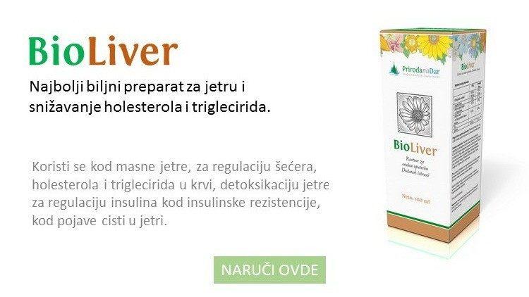 BioLiver kapi za regeneraciju jetre