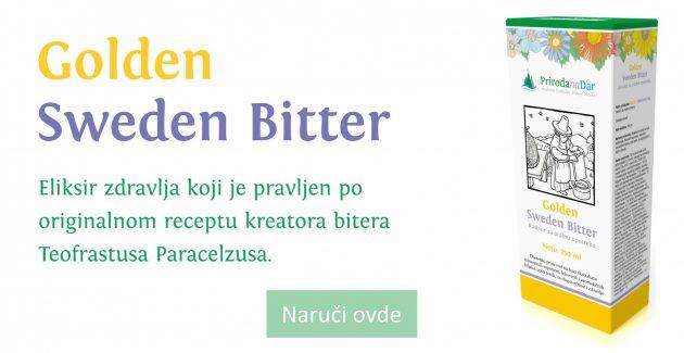 Golden Sweden bitter i bolja cirkulacija