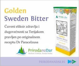 Golden Sweden Bitter eliksir dugovečnosti 250 ml